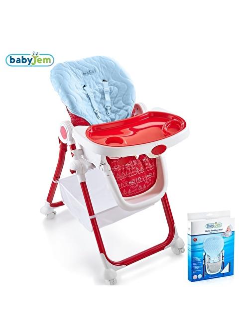 Baby Jem Babyjem Mama Sandalyesi Kılıfı Mavi